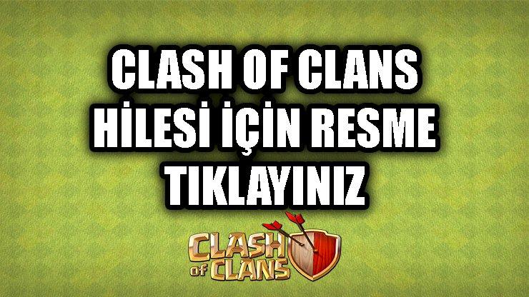 CLASH OF CLANS HİLE İNDİR