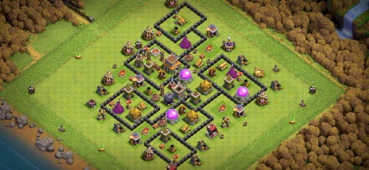 Köy Binası 8 Düzeni #61